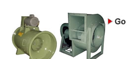 Fans and Blowers: Industry standard fans and blowers for commercial and industrial use